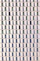 Detail des Wolkenkratzers foto