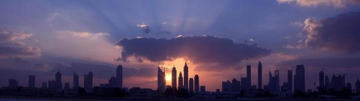 Stadtlandschaft, Dubai foto