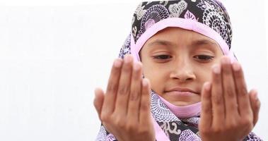 muslimisches Mädchen foto