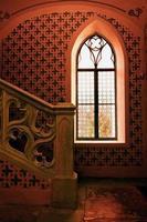 ir getöntes Schlossfenster foto