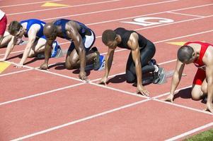 Athleten im Wettbewerb