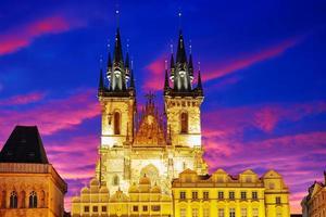 Kirche unserer Frau (staromestske namesti). foto