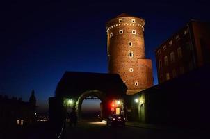 Eingang zum Wawel foto