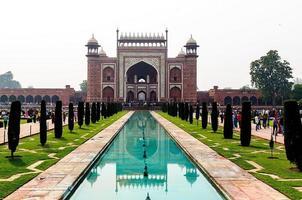 Tor zum Taj Mahal foto