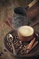 Kaffee Stillleben foto