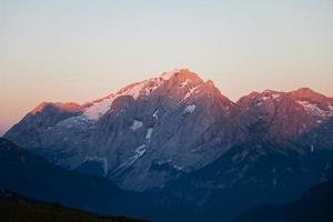 brennende Dolomiten