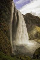 Seljalandsfoss Wasserfall Island foto