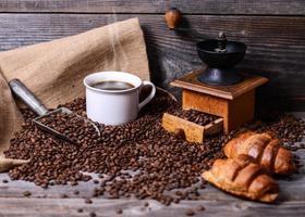 Kaffee Hintergrund foto