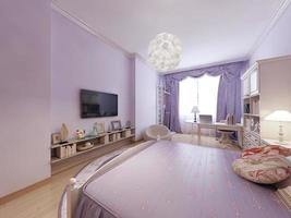 Schlafzimmer im klassischen Stil foto