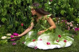 verzauberter Garten foto