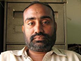 indischer Mann foto