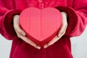 Herz in der Hand foto