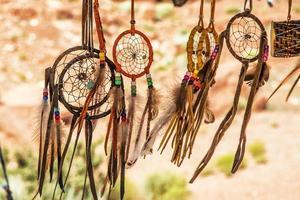 Navajo indische Amulette
