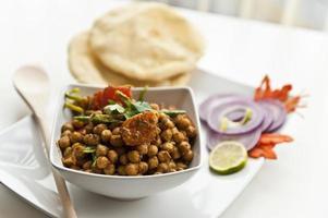nordindisches Gericht foto