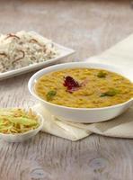 Dal Tadka, indisches Essen, Indien foto