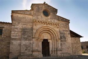 Kirche von Wamba in Spanien foto