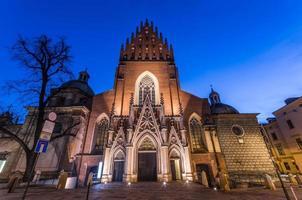 heilige Dreifaltigkeitskirche in Krakau foto