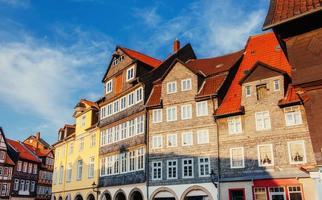 charmante stadt in deutschland. kleines Venedig. foto