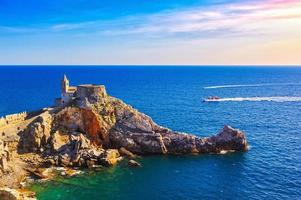 portovenere, san pietro kirche. Cinque Terre, Ligurien Italien