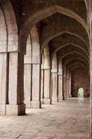 jama masjid, mandu, madhya pradesh, indien - stock image foto