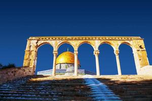 Kuppel der Felsenmoschee in Jerusalem