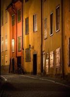 Straße in Stockholm