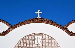 Kirche in Piskopiano. foto