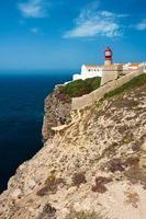 st. Vincent Kap und Leuchtturm, Algarve, Portugal.