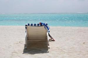 maledivische Einstellung foto