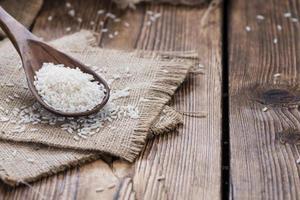 Haufen Reis