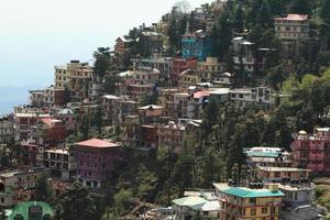 die stadt dharamsala in indien foto