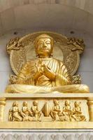 goldener Buddha. foto