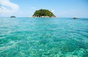 Korallen Insel Meer foto