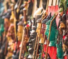 Kunsthandwerk in Kathmandu foto