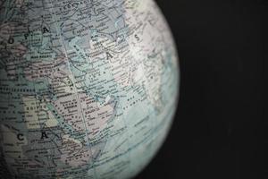 globo terráqueo, medio oriente foto