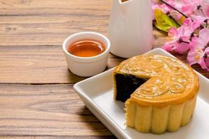 Dessert für Tee / Dessert für Tee Hintergrund foto