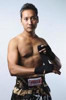 Muay Thai-Serie foto