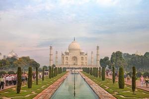 Taj Mahal, Agra, Uttah Pradesh, Indien foto