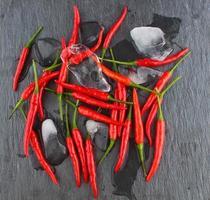 scharfer roter Chili foto