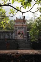 das Grab von minh mạng - hue, vietnam. foto