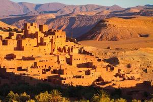 ait benhaddou, ouarzazate, marokko. foto