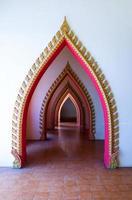 Tür Tempel Schicht foto
