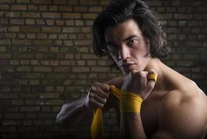 malaysischer Boxer foto