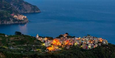 Cinque Terre (Ligurien, italienische Riviera), Corniglia und Manarola