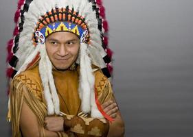 amerikanischer Ureinwohner foto