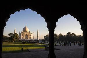 Taj Mahal, Agra, Indien foto