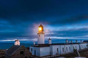 Dunnet Head Leuchtturm, Caithness foto