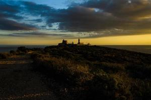 Cala Mosca Leuchtturm foto