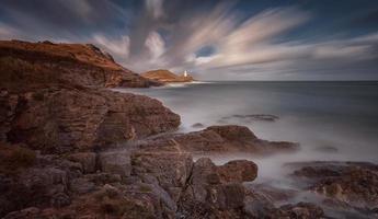 murmelt Leuchtturm foto