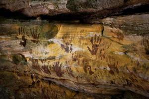 indianische Hand foto